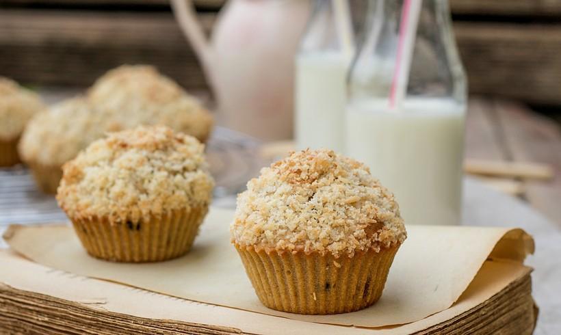 Muffini s čokoladom i kokosom