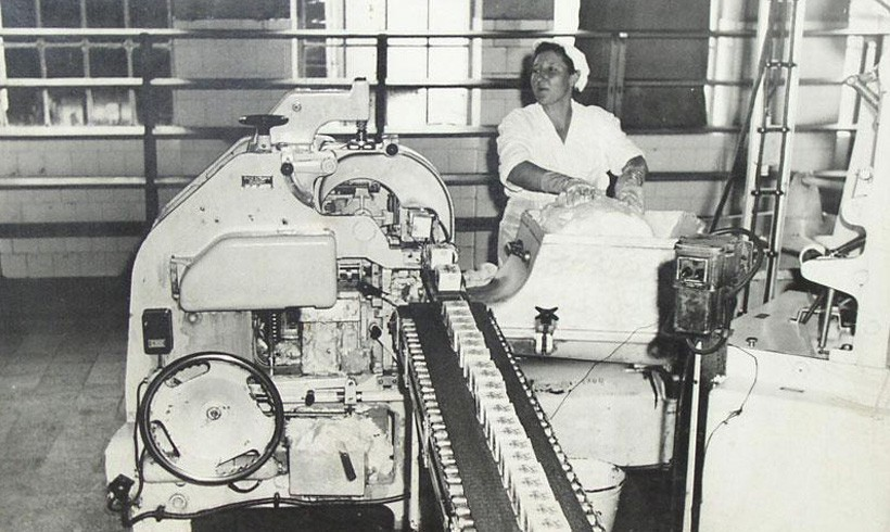 First production of margarine