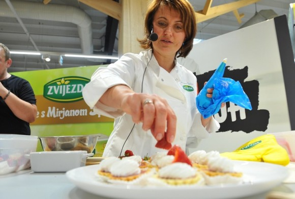 Mirjana Špoljar i Baby Dooks zasladili dan posjetiteljima Super Konzuma