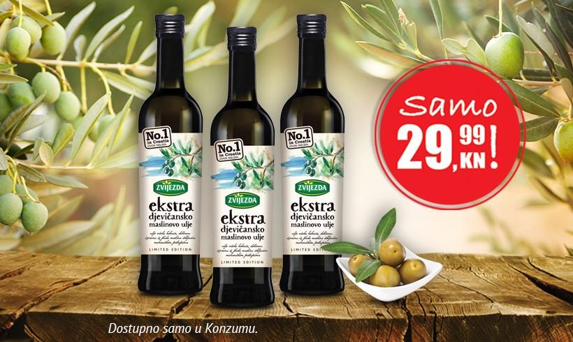 Ekstra djevičansko maslinovo ulje po cijeni od samo 29,99 kn