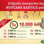 Izvučeni dobitnici nagradne igre: Zvijezda margarine kupi i novčane kartice pokupi!