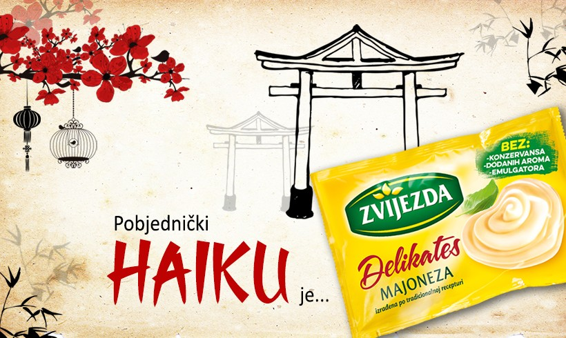 Odabrani dobitnici natječaja Osmisli haiku o majonezi
