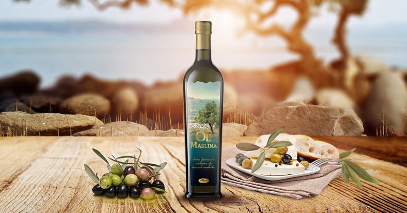 Ručno brani plodovi domaće masline, odnjegovani suncem, vjetrom i soli pretočeni u ekstra djevičansko ulje OL Maslina