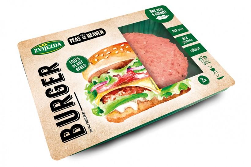 Zvijezda predstavlja burger Peas of heaven